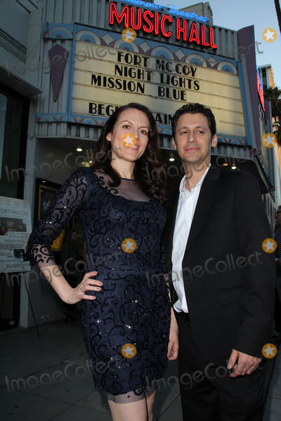 Andy Hirsch Photo - Kate Connor Andy Hirschat the Fort McCoy Premiere Music Hall Theater Beverly Hills CA 08-15-14