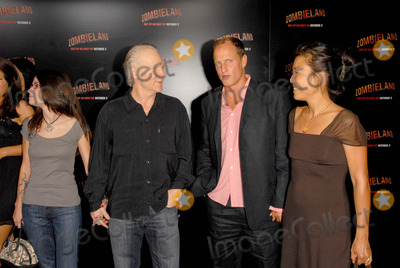 Bill Maher Photo - Bill Maher with Woody Harrelson and his wife Lauraat the Los Angeles Premiere of Zombieland Graumans Chinese Theatre Hollywood CA 09-23-09