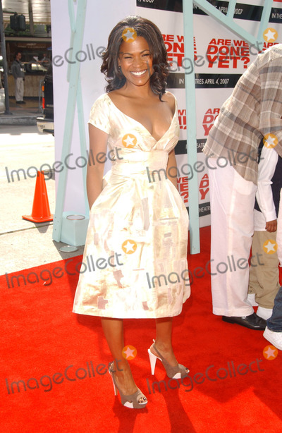 Nia Long Photo - Nia Longat the Premiere of Are We Done Yet Mann Village Theater Westwood CA 04-01-07