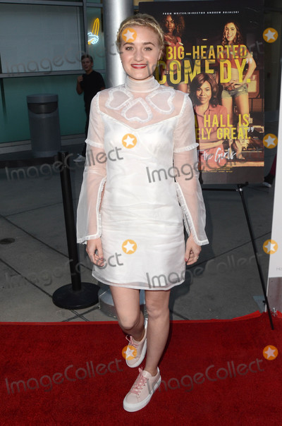 AJ Michalka Photo - AJ Michalkaat the Support the Girls Los Angeles Premiere Arclight Hollywood CA 08-22-18