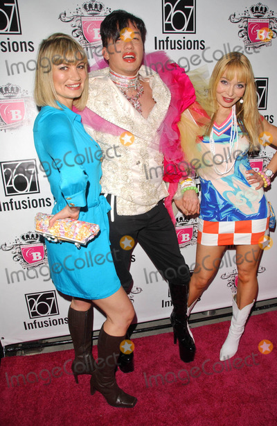 Anna Nicole Smith Photo - Rena Riffel with Bobby Trendy and Lorielle Newat the Anna Nicole Smith Tribute Event HERE Lounge West Hollywood CA 04-24-07