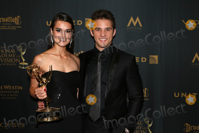 Casey Moss Photo - True OBrien Casey Mossat the 43rd Daytime Emmy Awards Press Room Westin Bonaventure Hotel Los Angeles CA 05-01-16