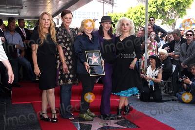 Gina Schock Photo - Charlotte Caffey Belinda Carlisle Gina Schock Kathy Valentine and Jane Wiedlinat the Go-Gos induction into the Hollywood Walk of Fame Hollywood CA 08-11-11