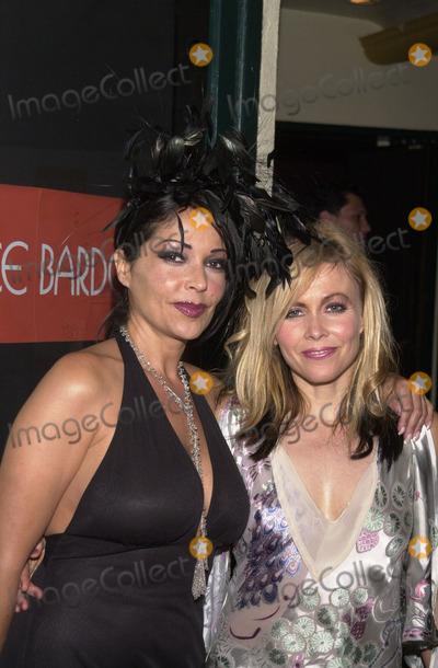 Apollonia Photo -  Apollonia and Terri Nunn at the Kabarett fashion show benefitting DIFFA El Rey Theater Los Angeles 09-17-01