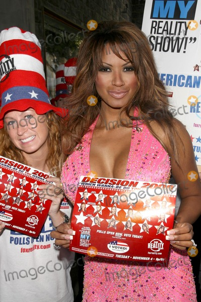 Traci Bingham Photo - Traci Binghammaking campaign stops for the final leg of Gimme My Reality Show Various Locations Los Angeles CA 10-27-08 making campaign stops for the final leg of Gimme My Reality Show Los Angeles CA 10-27-08