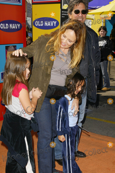 Catherine Bach Photo - Catherine Bach and family at the PS Arts Express Yourself Street Fair Venice CA 11-02-03