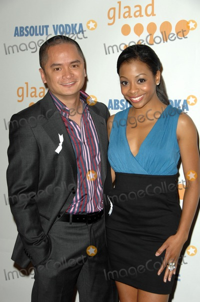 Bresha Webb Photo - Rodney To and Bresha Webbat the 20th Annual GLAAD Media Awards Nokia Theatre Los Angeles CA 04-18-09