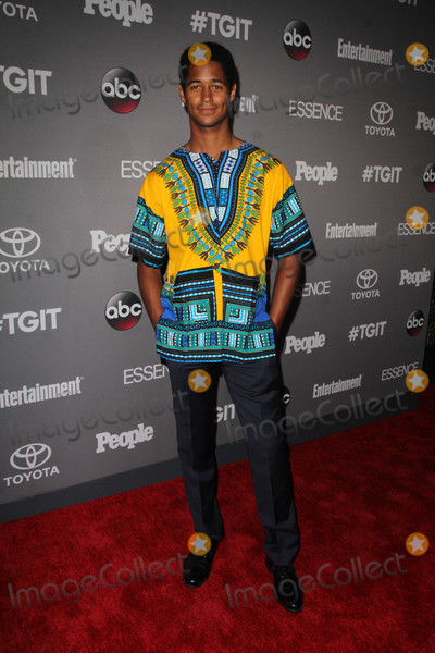 Alfred Enoch Photo - Alfred Enochat the TGIT Premiere Event Red Carpet Gracias Madre West Hollywood CA 09-26-15