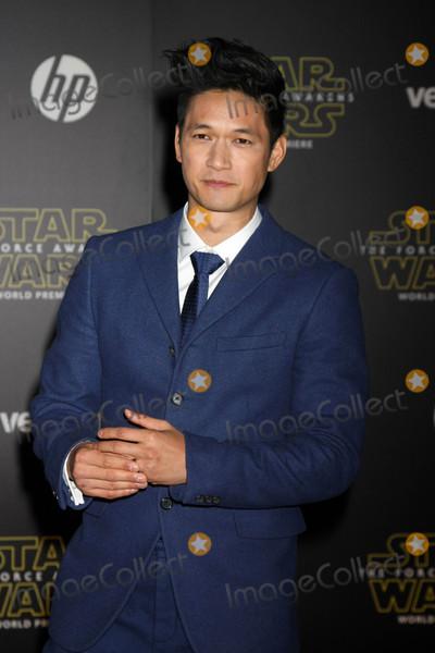 Harry Shum Jr Photo - Harry Shum Jrat the Star Wars The Force Awakens World Premiere El Capitan Hollywood CA 12-14-15