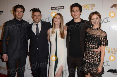 Austin Stowell Photo - Austin Stowell James Franco Ashley Greene Nat Wolff Ahna OReillyat the In Dubious Battle Los Angeles Premiere Arclight Hollywood CA 02-15-17