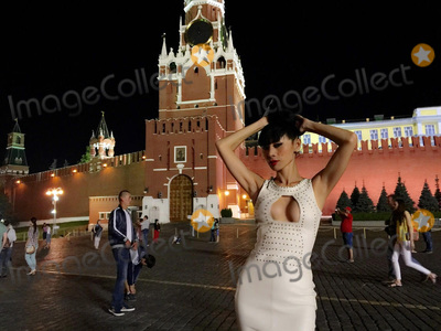 The Features Photo - Bai LingHot White Moscow Night out in Red Square  during a break while shooting the feature film Maximum Impact in Russia Red Square Moscow Russia 07-11-15Dailycelebcom 818-249-4998