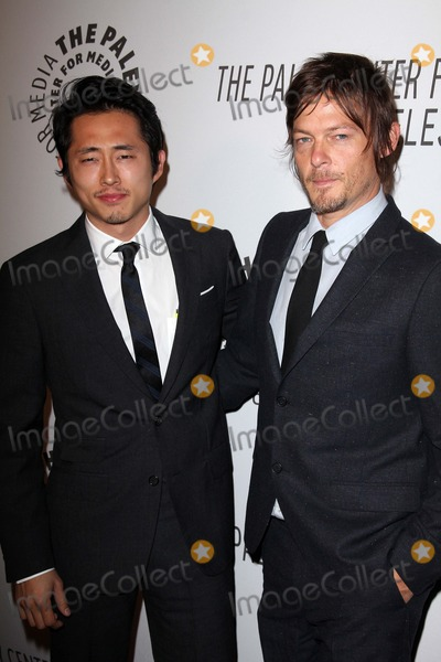 Norman Reedus Photo - Steven Yeun Norman Reedusat the Paley Center Annual Los Angeles Benefit The Lot West Hollywood CA 10-22-12