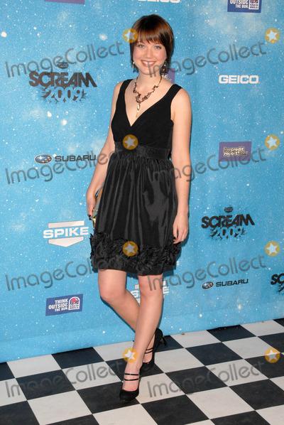 Nicki Clyne Photo - Nicki Clyneat Spike TVs Scream 2009 Greek Theatre Los Angeles CA 10-17-09