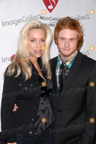 Cherie Currie Photo - Cherie Currie and son Jake at the 6th Annual Musicares MAP Fund Bevefit Concert celebrating women in  recovery Club Nokia Los Angeles CA 05-07-10