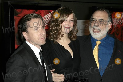 Alexandra Maria Lara Photo - Tim Roth with Alexandra Maria Lara and Francis Ford Coppolaat the Los Angeles premiere of Youth Without Youth WGA Theater Beverly Hills CA 12-07-07