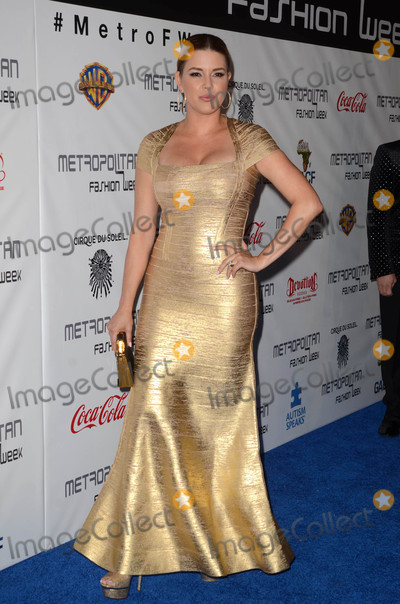 Alicia Machado Photo - Alicia Machadoat the Metropolitan Fashion Week Closing Gala and Awards Show Warner Bros Studios Burbank CA 10-01-16