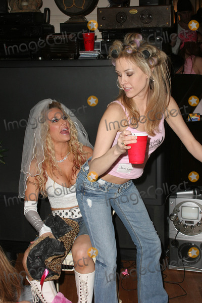 Leigh Ann Spence Photo - Lisa Ligon and Leigh Ann Spenceat a White Trash Themed Bridal Shower and Party for Lisa Ligon Private Location Studio City CA 03-19-06