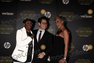 Tonya Lewis Lee Photo - Spike Lee JJ Abrams Tonya Lewis Leeat the Star Wars The Force Awakens World Premiere El Capitan Hollywood CA 12-14-15