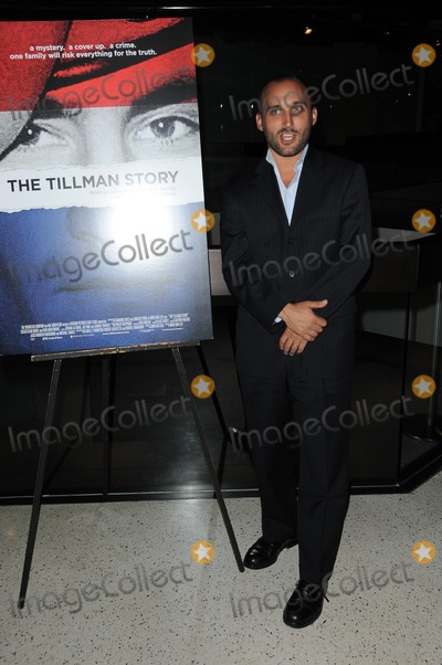 Amir Bar-Lev Photo - Amir Bar-Levat The Tillman Story Screening Pacific Design Center West Hollywood CA 08-12-10