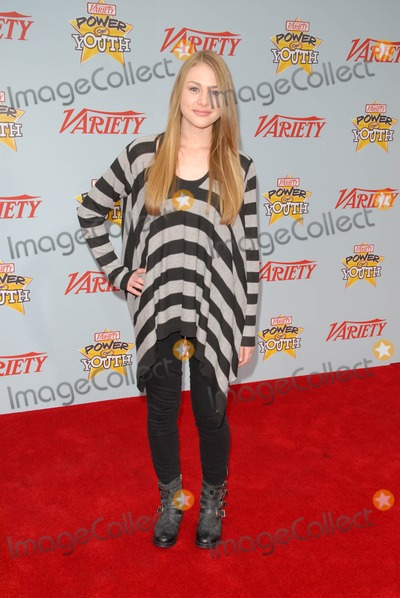 Hayley Erin Photo - Hayley Erin at Varietys 3rd Annual Power of Youth Paramount Studios Hollywood CA 12-05-09