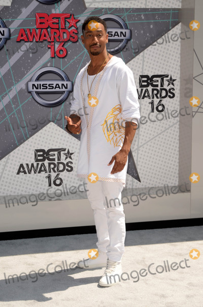 Brandon T Jackson Photo - Brandon T Jacksonat the 2016 BET Awards Arrivals Microsoft Theater Los Angeles CA 06-26-16