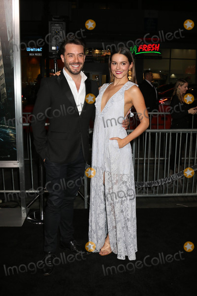 Juan Pablo Photo - Juan Pablo Espinosa Julieth Restrepoat the Geostorm Premiere TCL Chinese Theater IMAX Hollywood CA 10-16-17