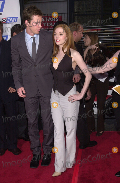 Kip Pardue Photo -  Rose McGowan and Kip Pardue at the premiere of Warner Brothers Driven at the Chinese Theater Hollywood 04-16-01