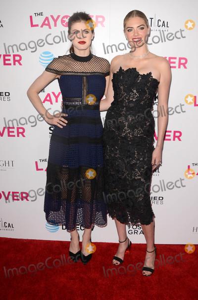 Alexandra Daddario Photo - Alexandra Daddario Kate Uptonat The Layover Los Angeles Premiere Arclight Hollywood CA 08-23-17