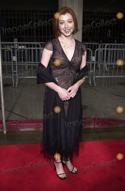 Allison Hannigan Photo -  Allison Hannigan at the 2001 TV Guide Awards Shrine Auditorium 02-24-01