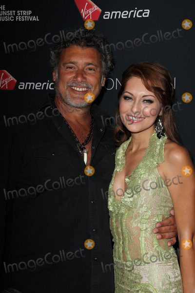 Nadia Lanfranconi Photo - Steven Bauer Nadia Lanfranconiat the 5th Annual Sunset Strip Music Festival Skybar West Hollywood CA 08-17-12