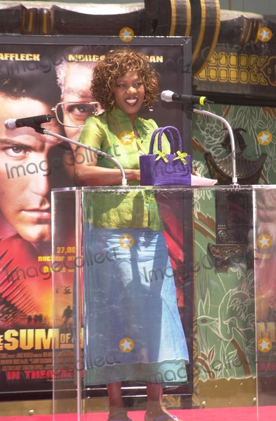 Alfre Woodard Photo - Alfre Woodard at Freemans hand and foot print ceremony at the Chinese Theater Hollywood 06-05-02