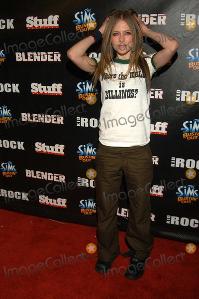 AVRIL LEVIGNE Photo - Avril Levigne at Kid Rocks After-Party for the 2003 American Music Awards Forbidden City Hollywood Calif 11-16-03