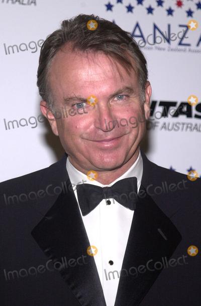 Sam Neill Photo - Sam Neill at the Qantas Australia Day Ball St Regis Hotel Century City 01-26-02