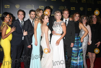 Kelli Goss Photo - Mischel Morgan Greg Rikaart Max Erlich Melissa Ordway Hunter King Matthew Atkinson Kelli Goss Lachlan Buchanan Gina Tognoni Kate Linder Cathering Bach at the 2015 Daytime Emmy Awards Press Room at the Warner Brothers Studio Lot on April 26 2015 in Los Angeles CA Copyright David Edwards  DailyCelebcom 818-249-4998