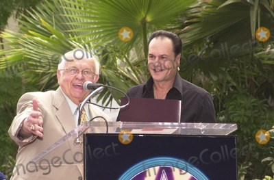 KC and the Sunshine Band Photo - Johnney Grant and Karry Wayne KC Casey at KC and The Sunshine Band induction ceremony into Hollywoods Walk of Fame Hollywood Blvd CA 08-02-02