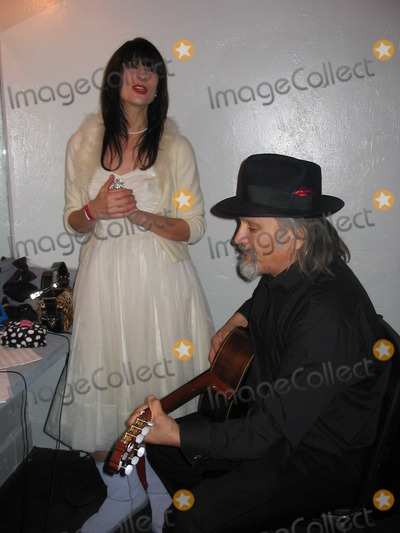 Elvis Presley Photo - Marcy Levy Carlos Guitarlos at the Elvis Presley 70th Birthday Tribute Music Box Theater Hollywood CA 01-08-05