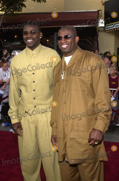 Michael Irving Photo - Michael Irving and Dion Sanders at the premiere of Paramount Pictures K-19The Widowmaker held at Mann Village and Bruin Theaters Westwood CA 07-15-02