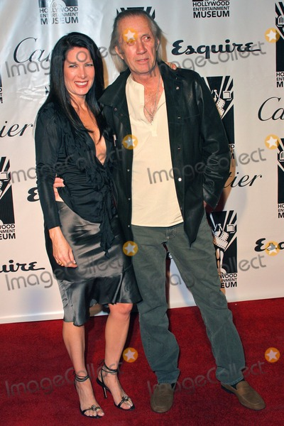 Annie Bierman Photo - Annie Bierman and David Carradine at the 2004 Hollywood Legacy Awards Gala at the Esquire House Beverly Hills CA 12-17-04