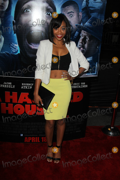 Bresha Webb Photo - Bresha Webbat A Haunted House 2 World Premiere Regal Cinemas Los Angeles CA 04-16-14