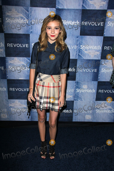 G Hannelius Photo - G HanneliusPeople Stylewatch Hosts Hollywood Denim Party The Line Los Angeles CA 09-18-14