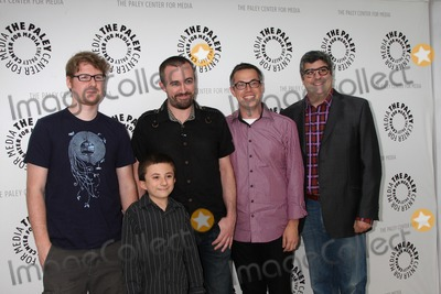 Atticus Shaffer Photo - LOS ANGELES - AUG 13  Justin Roiland Atticus Shaffer Maxwell Atoms Noah Z Jones Dana Snyder at the Disneys Fish Hooks PaleyFest Family 2011 Event at Paley Center for Media on the August 13 2011 in Beverly HIlls CA
