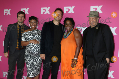 Angela Lewis Photo - LOS ANGELES - AUG 6  Carter Hudson Angela Lewis Dave Andron Michael Hyatt Walter Mosley at the FX Networks Starwalk at Summer 2019 TCA at the Beverly Hilton Hotel on August 6 2019 in Beverly Hills CA