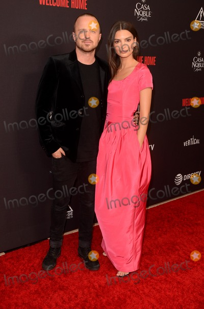 Aaron Paul Photo - LOS ANGELES - NOV 4  Aaron Paul Emily Ratajkowski at the Welcome Home LA Premiere at the The London West Hollywood on November 4 2018 in West Hollywood CA