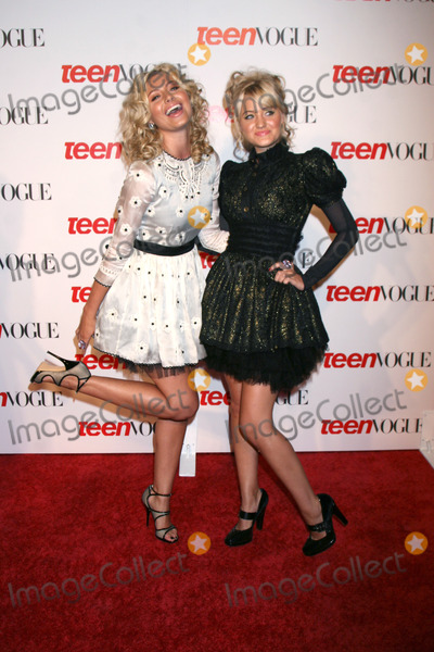 ALY AJ Photo - Aly  AJ Michalka arriving at the Teen Vogue Young Hollywood Party at the LACMA in Los Angeles CA onSeptember 18 2008