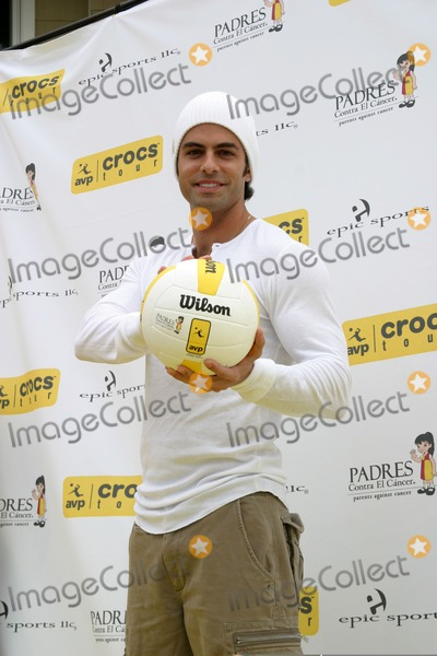 Adrian Bellani Photo - Adrian Bellani Spike for Hope Celebrity Volleyball MatchTo benefit the Padres FoundationDuring Break at the AVP Pro Vollyball TournamentTo benefit the Padres FoundationHermosa Beach CAMay 20 2007