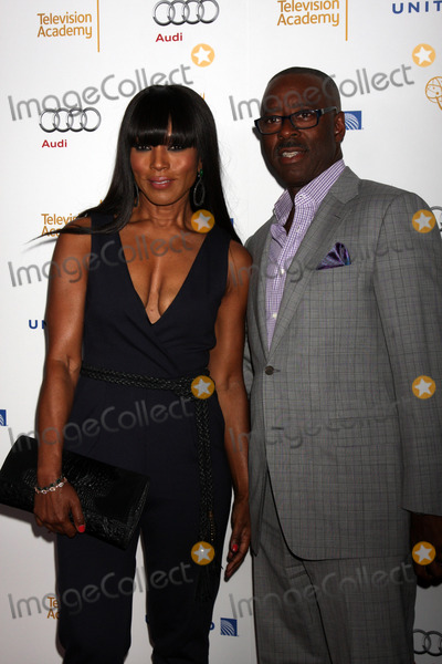 Courtney B Vance Photo - LOS ANGELES - AUG 23  Angela Bassett Courtney B Vance at the Television Academys Perfomers Nominee Reception at Pacific Design Center on August 23 2014 in West Hollywood CA