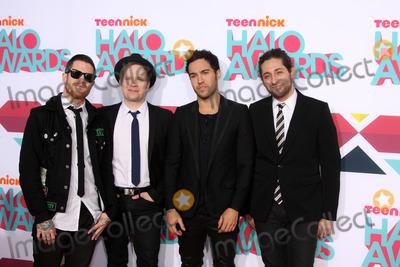 Andy Hurley Photo - LOS ANGELES - NOV 17  Fall Out Boy Group Andy Hurley Patrick Stump Pete Wentz Joe Trohman at the TeenNick Halo Awards at Hollywood Palladium on November 17 2013 in Los Angeles CA
