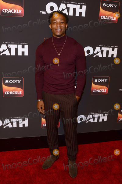 Arlen Escarpeta Photo - LOS ANGELES - FEB 20  Arlen Escarpeta at The Oath Season 2 Screening Event  at the Paloma on February 20 2019 in Hollywood CA