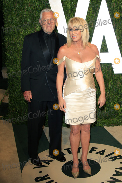 Alan Hamel Photo - LOS ANGELES - FEB 26  Alan Hamel Suzanne Somers arrives at the 2012 Vanity Fair Oscar Party  at the Sunset Tower on February 26 2012 in West Hollywood CA