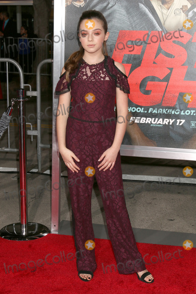Alexa Nisenson Photo - LOS ANGELES - FEB 13  Alexa Nisenson at the Fist Fight Premiere at Village Theater on February 13 2017 in Westwood CA